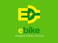 E-Bike Charging Station Network Logo