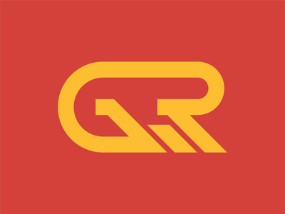GRW Monogram vector grw monogram minimal branding logo design adobe illustrator