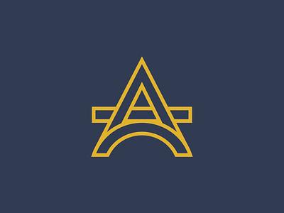 Oporto Accounting consultancy a services accounting oporto vector monogram idenity logotype letter brand minimal branding logo design adobe illustrator