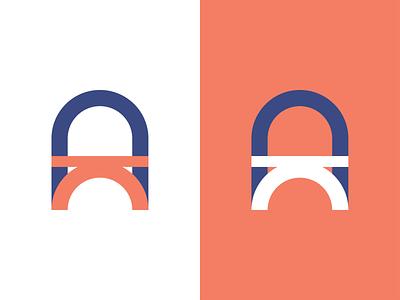 Oporto Accounting accounting oporto vector idenity monogram minimal branding design logo adobe illustrator