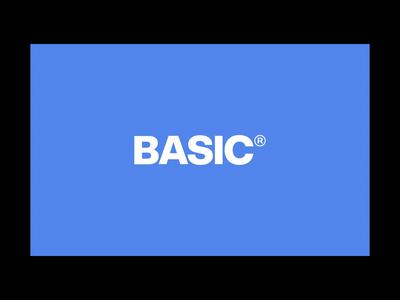BasicAgency.com — Case Study web design typography homepage digital design branding basic