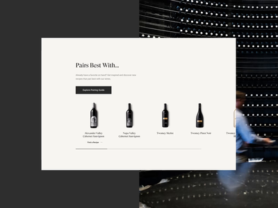 Silver Oak Wine ux ui homepage design web design brand design branding digital basic agency basic ecommerce webdesign wine