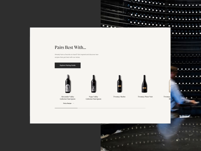 Silver Oak Wine ux ui homepage design web design brand design branding digital basic agency basic ecommerce webdesign wine