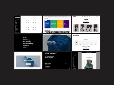 BASIC® x Patagonia (003) ui branding ecommerce digital design basic basic agency web design