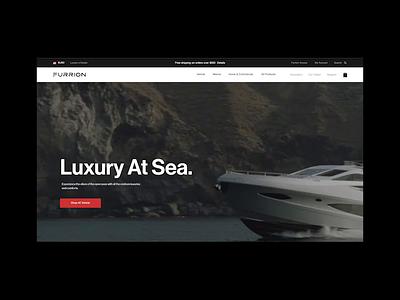 Furrion.com tech luxury outdoor strategy ecommerce design digital