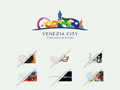 Venezia City - Logo  creativity work colour idea concept brand italia venezia logo
