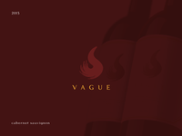Wine bottle labels - Vague