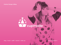 Fashion Blog - Cupmode on Dribbble