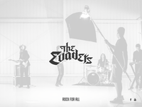 The Evaders - Rock band logo