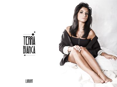 Terra Bianca - Logo model photo shooting luxury jewels logo brand