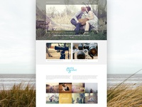 Wedding Photography Website