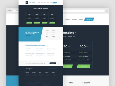 Pricing Page hosting pricing tables angles angled crisp dark website focus lab web hosting pricing tables