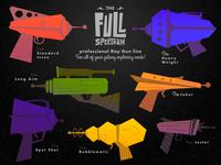 Full Spectrum professional Ray Guns