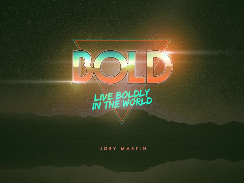 80's Bold by Jared Tohlen on Dribbble