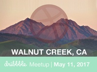 Walnut Creek Dribbble Meetup