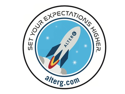 Rocket Illustration Badge
