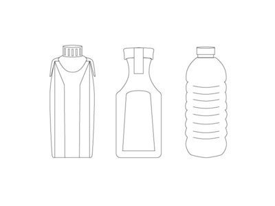 Simple Drink Drawings vector logodesign branding design illustration