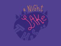 A Night Lake This