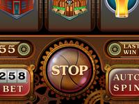 "Slot Game ""Spy London"""