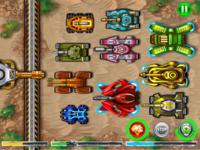 "Tank game ""Defense Battle"""