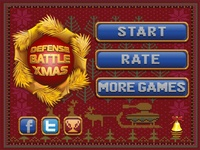 "Menu game ""Defense Battle XMAS"""