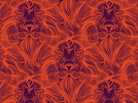"""Pattern """"Lion fire"""""""