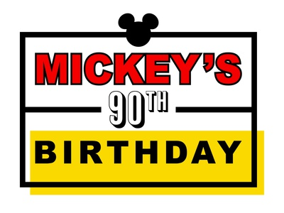 MICKEY'S 90TH BIRTHDAY // LOGO REBRAND CONCEPT