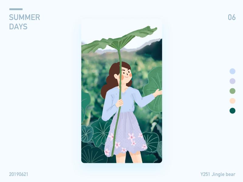 summer days illustration