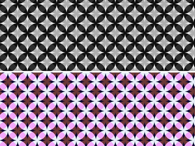 cirlce pattern illustration vector pattern