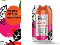 Cool soda | Frosted citrus mandarin