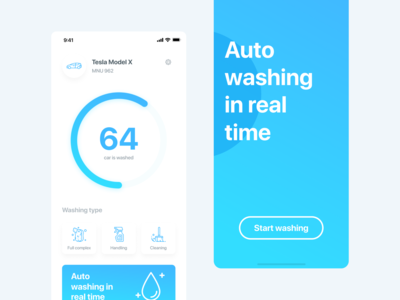Auto Washing In Real Time