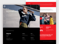 Represent Communications website