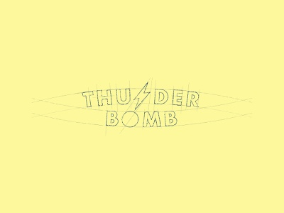 Nice little find while concepting graphic letter ocean surfing surf lightning bomb concept wordmark logo
