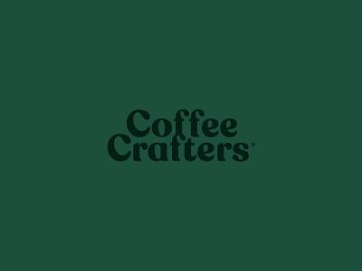 Modified Wordmark typography design concept color typography coffee graphic identity logo branding