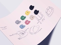 Concept Sketch Caps
