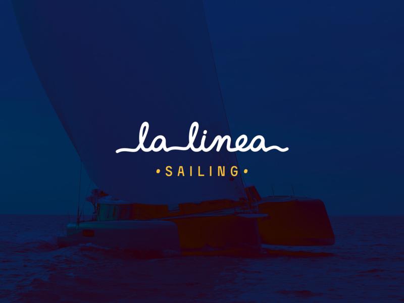 LaLinea Logo screen ui animation debuts typography colors logo illustration branding vector design