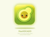 Daily UI - 005 MeeVOCADO ESL Vocabulary App