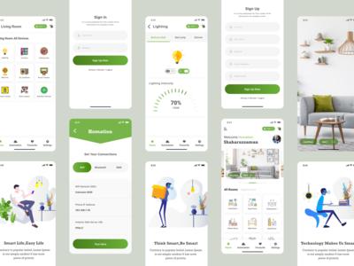 Homation - iOT App UI