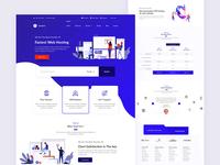 Web Hosting Company - Home Page