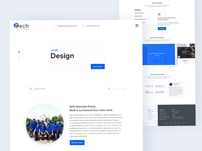 Redesign - Itech Soft Solutions Website