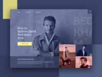 David Beckham Style Guide
