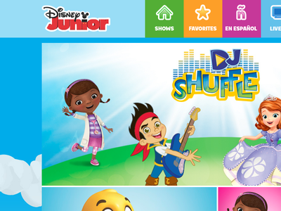 WATCH Disney Junior for the web is live!