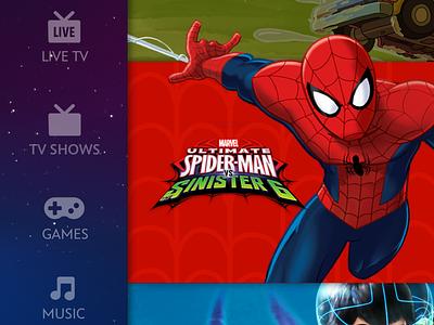 TV UI for kids ui tvos kids app