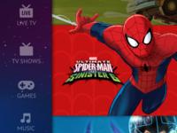 TV UI for kids