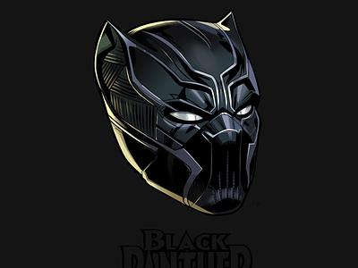 Black Panther marvel black panther vector sketch
