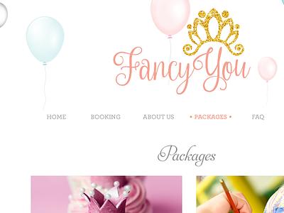 Fancy You website white html css wordpress website