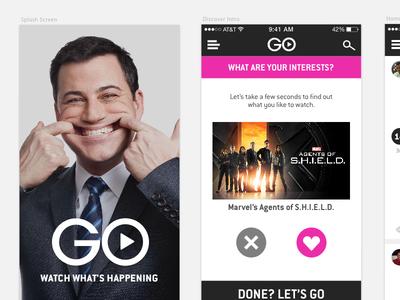 Disney media aggregation app