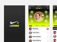 Live Nike+ idea