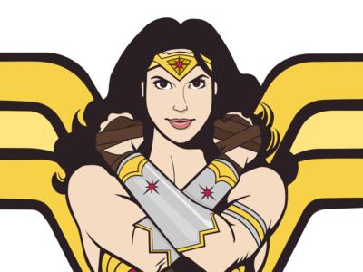 Gal Godot Comic Wonder Woman
