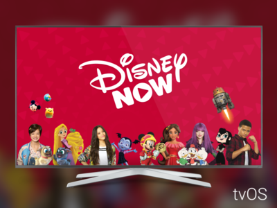 DisneyNOW tvOS app